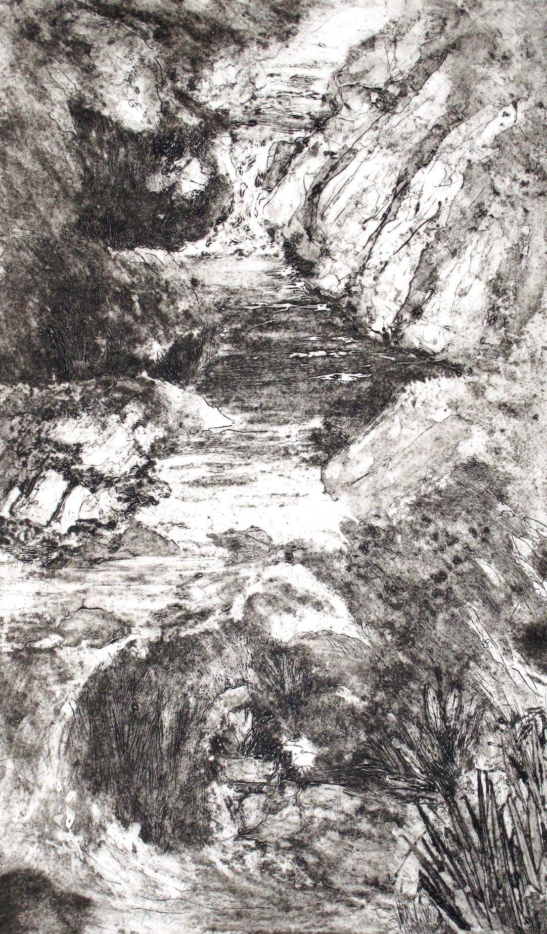 Hillside stream small