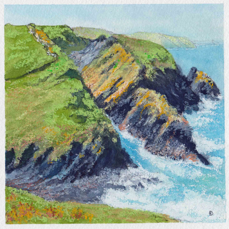 cliffs near Newport small